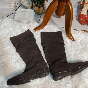 Liz Claiborne Leather Boots Ellery